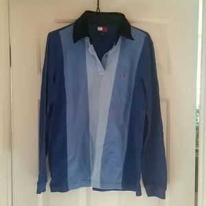 Tommy Hilfiger Long Sleeve Athletic Shirt size M